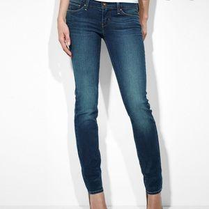 Levi's Modern Rise Skinny Jeans Slight Curve Sz 24